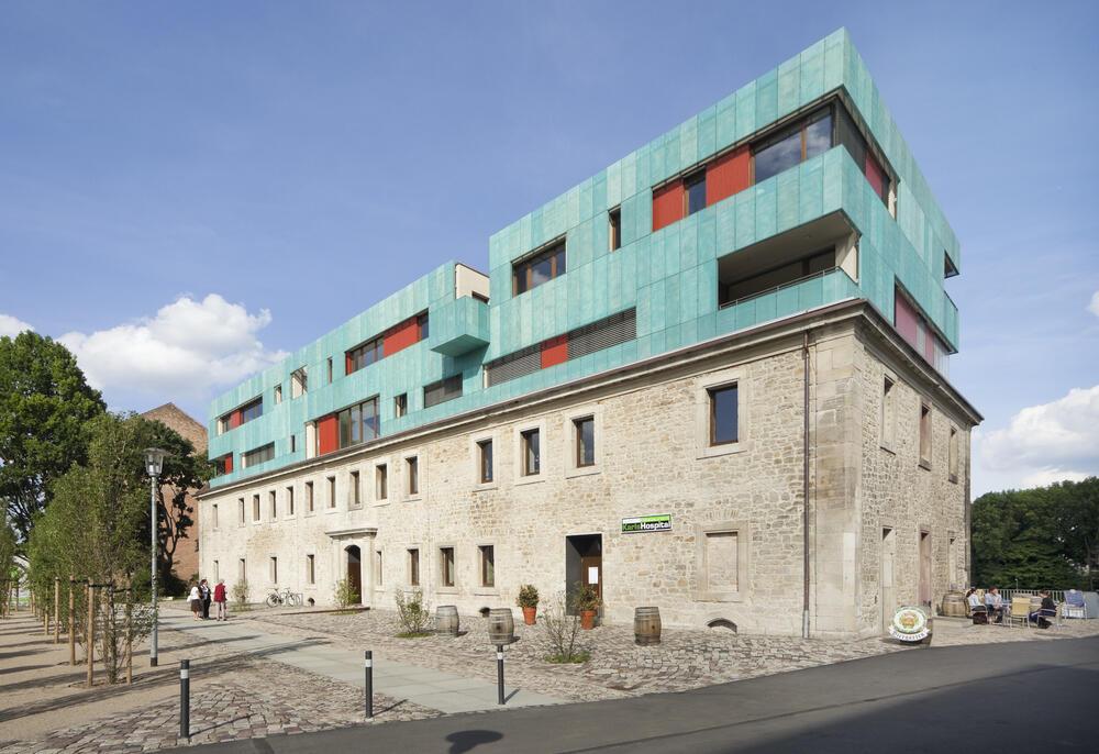 Architekten In Kassel karlshospital kultur projekte architekten foundation 5
